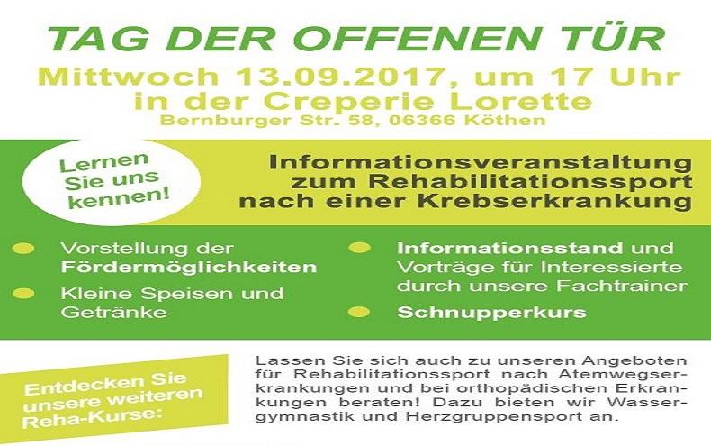 Info – Veranstaltung